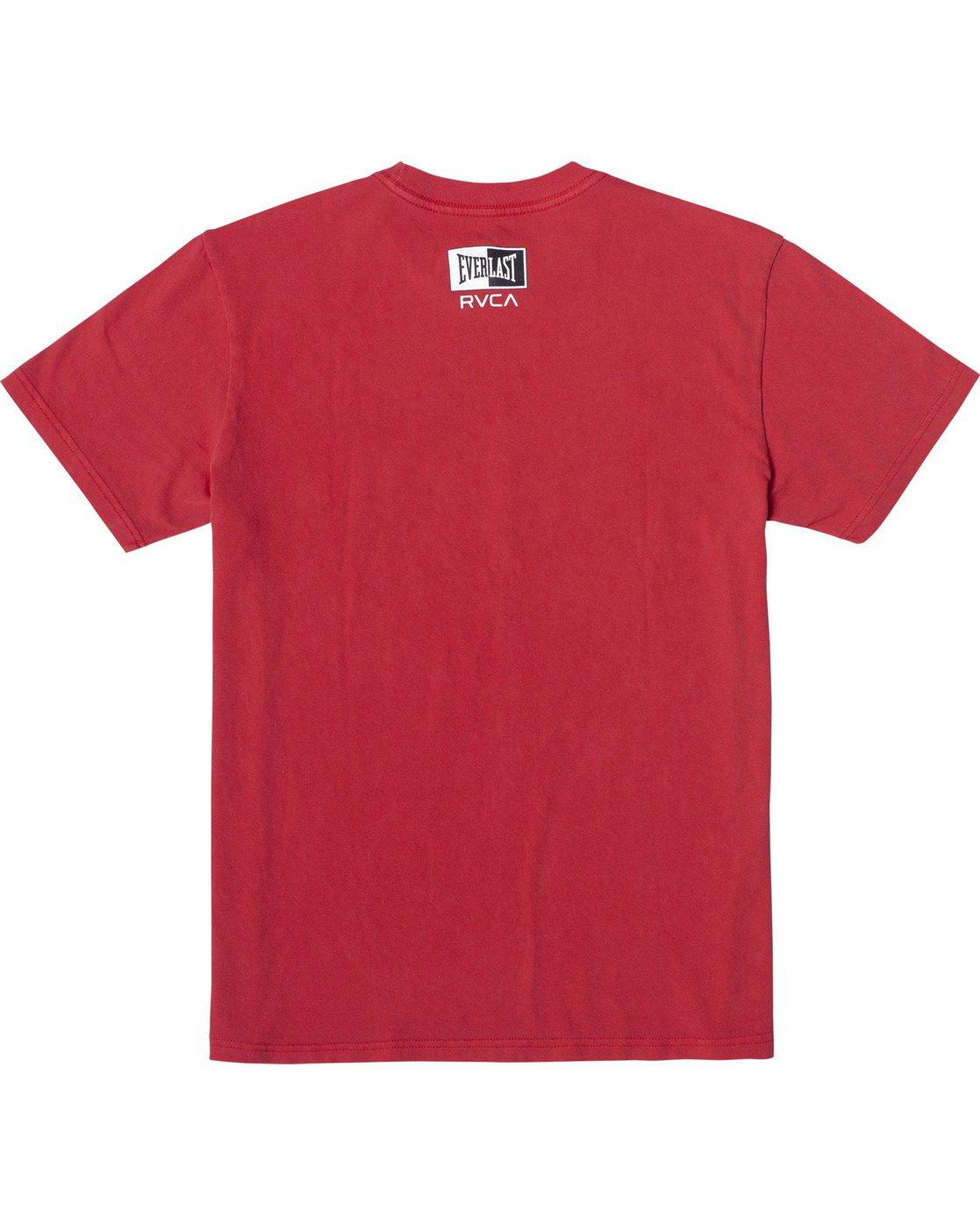 1 Everlast Box - T-Shirt for Men Red U4SSEBRVF0 RVCA
