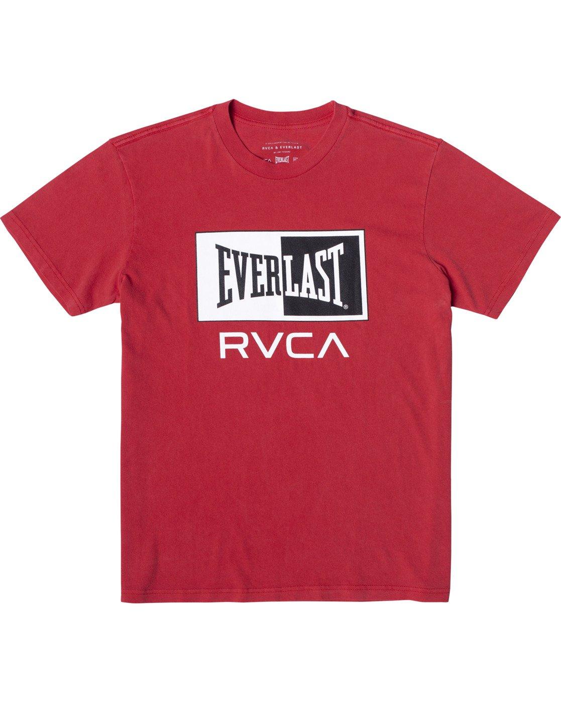 0 Everlast Box - T-Shirt for Men Red U4SSEBRVF0 RVCA