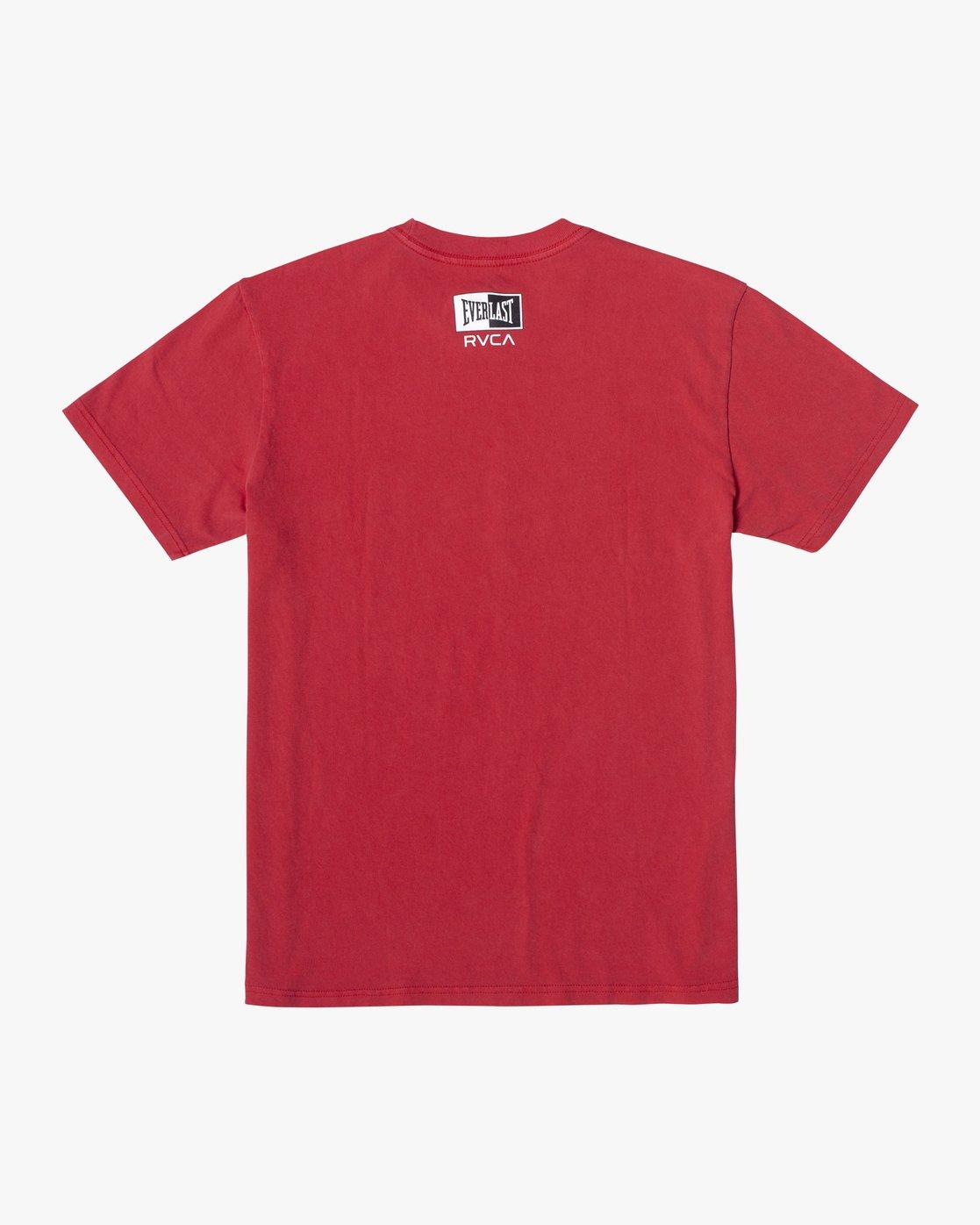 3 Everlast Box - T-Shirt for Men Red U4SSEBRVF0 RVCA