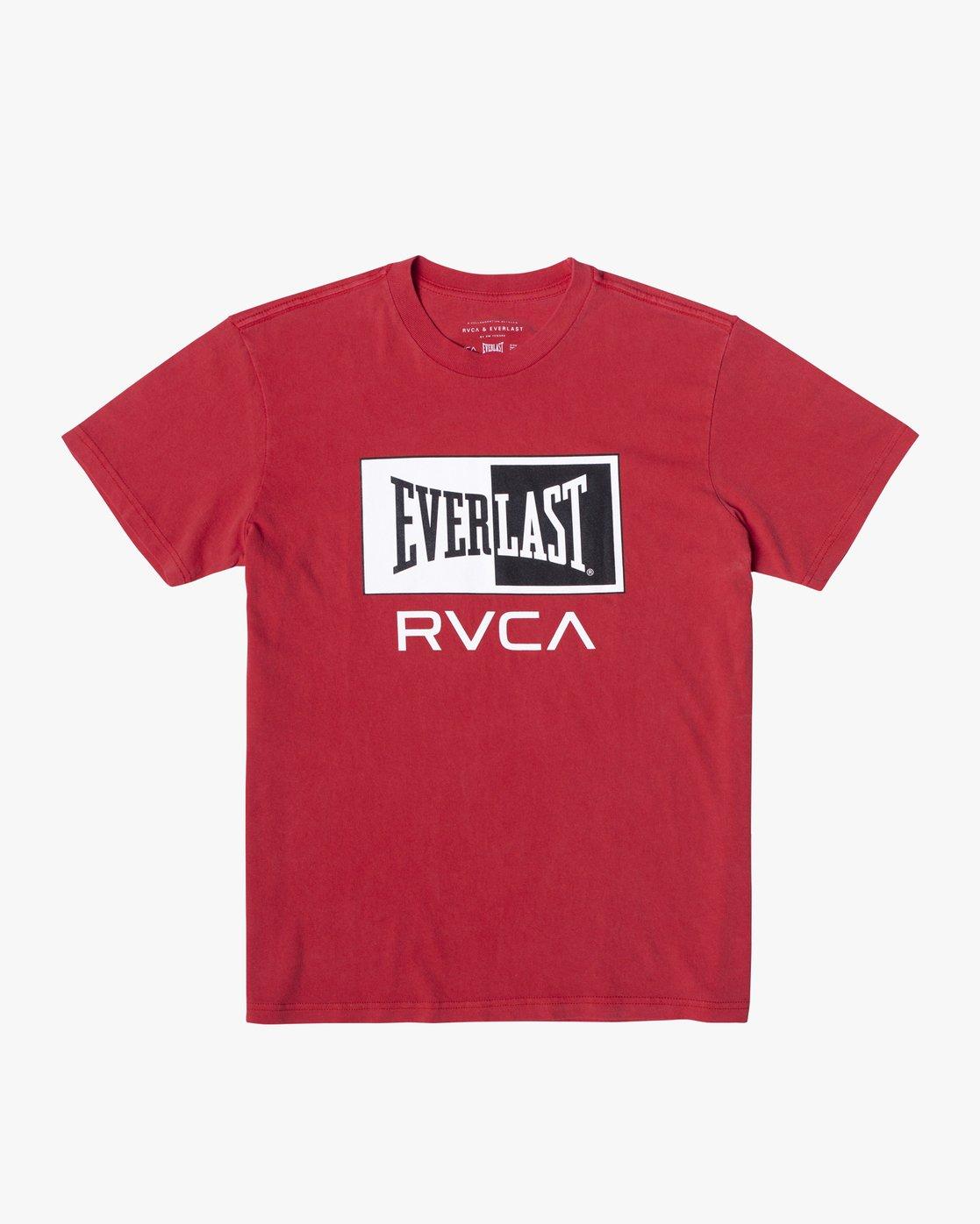 2 Everlast Box - T-Shirt for Men Red U4SSEBRVF0 RVCA