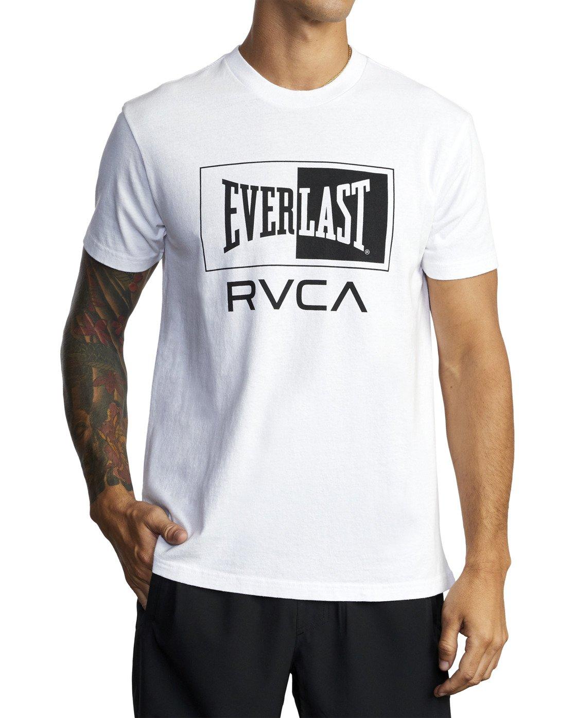 7 Everlast Box - T-Shirt for Men White U4SSEBRVF0 RVCA