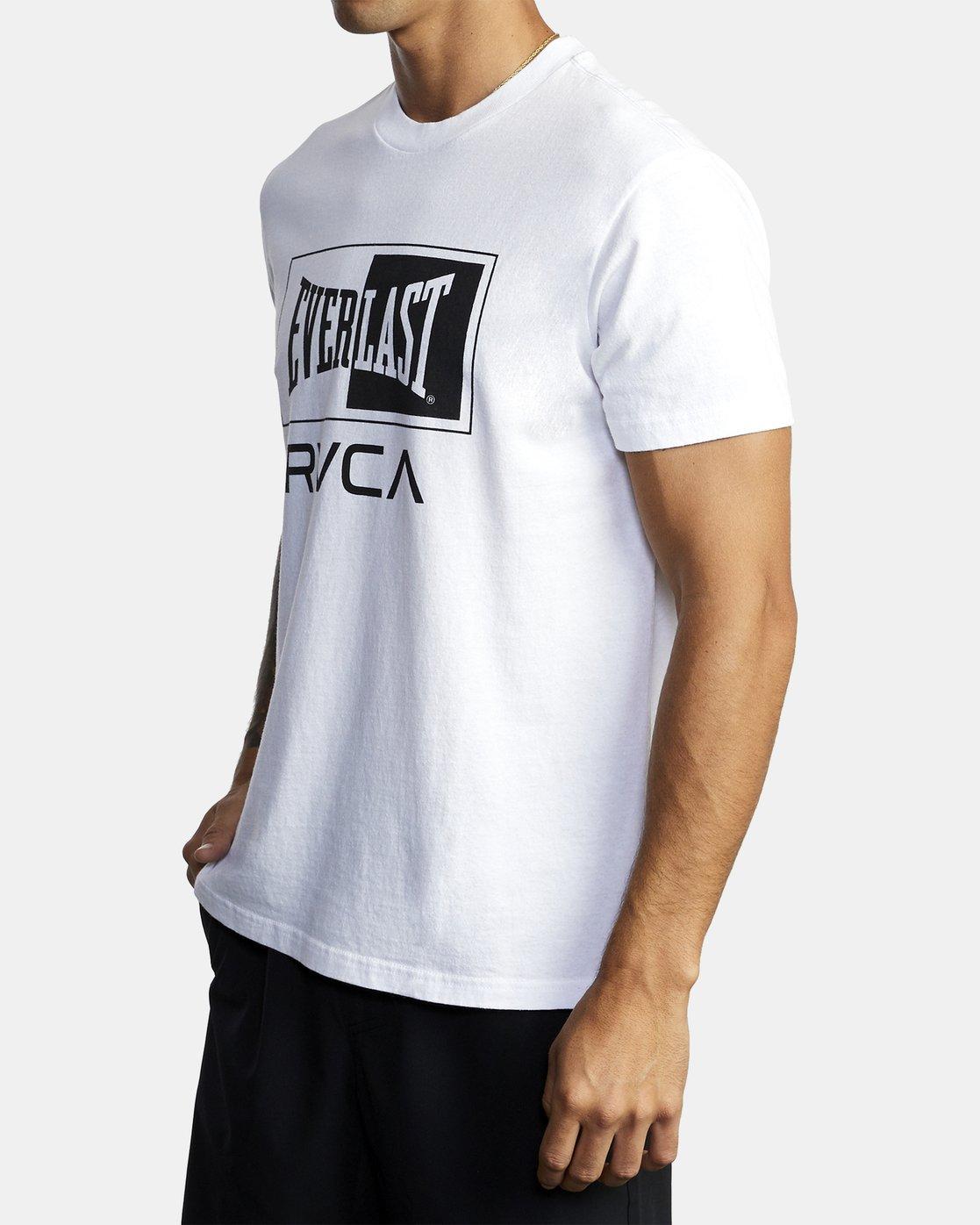 6 Everlast Box - T-Shirt for Men White U4SSEBRVF0 RVCA
