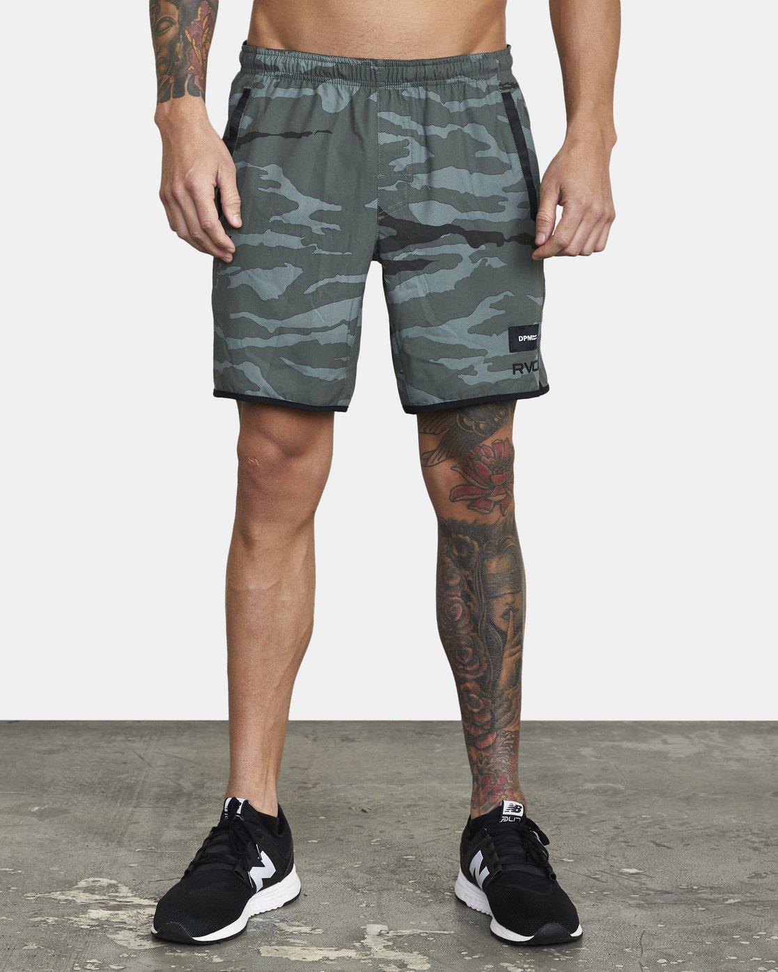 0 DPM - Workout Shorts for Men  U4WKMHRVF0 RVCA