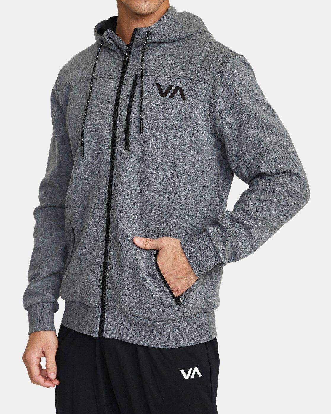 2 VA Sport Tech - Hoodie for Men Grey U4ZHMBRVF0 RVCA