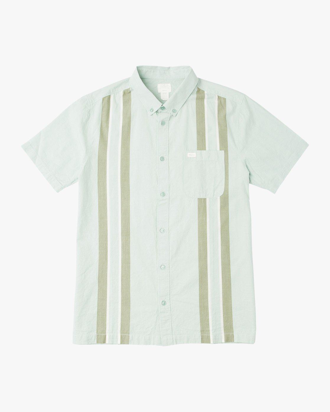 0 Neutral Havanna Button-Up Shirt Grey U501PRHA RVCA