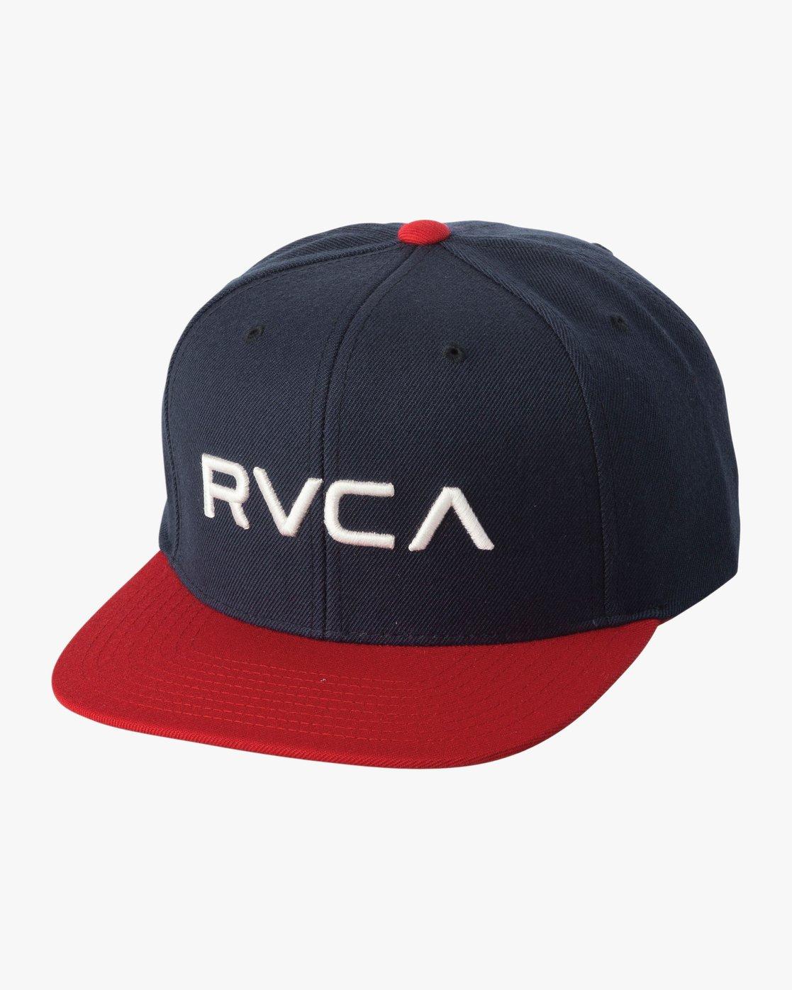 0 RVCA Twill III - Snapback Cap for Men Blau U5CPRSRVF5 RVCA