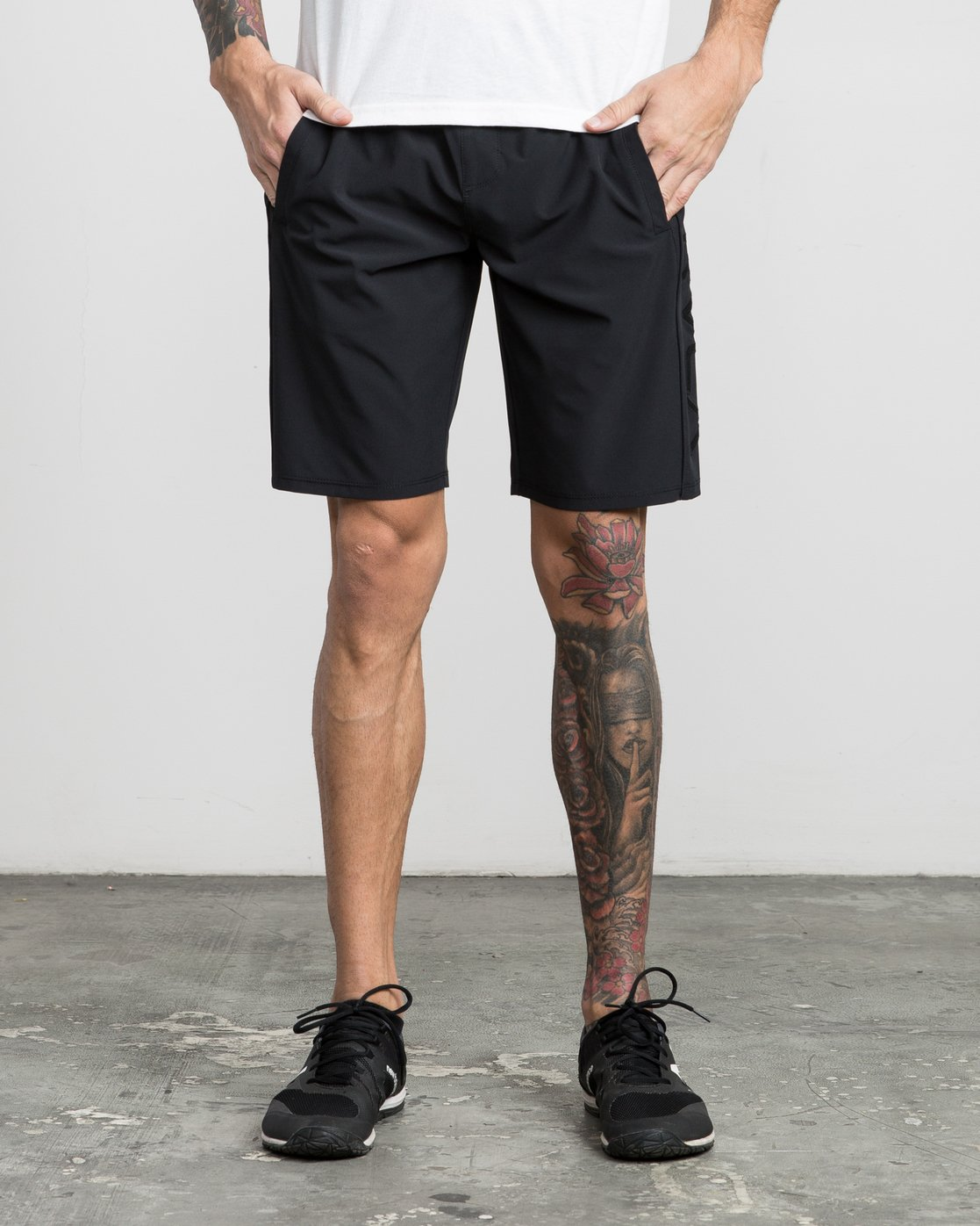"1 Affiliate 19"" Sport Short Black V201PRAF RVCA"