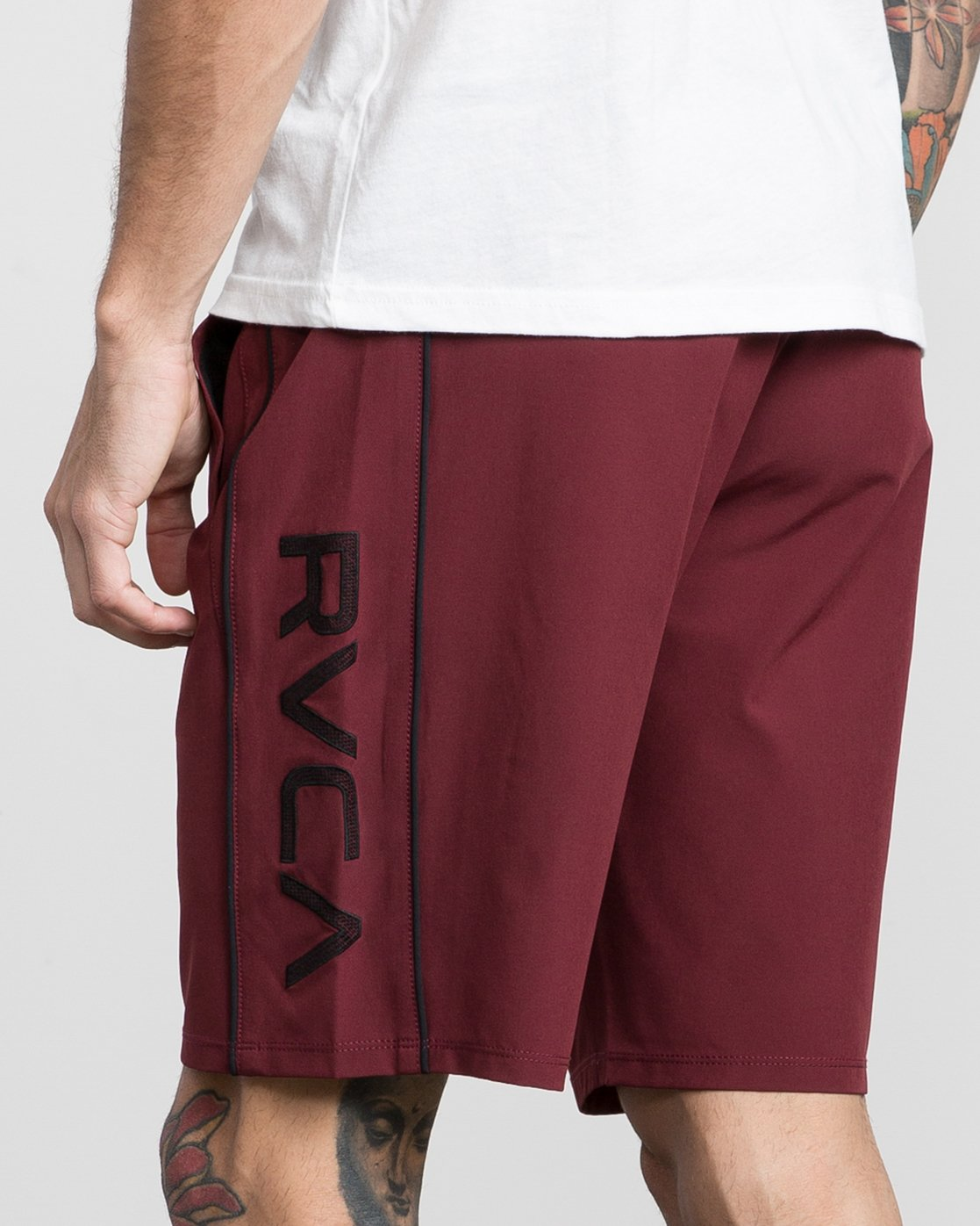 "7 Affiliate 19"" Sport Short Brown V201PRAF RVCA"