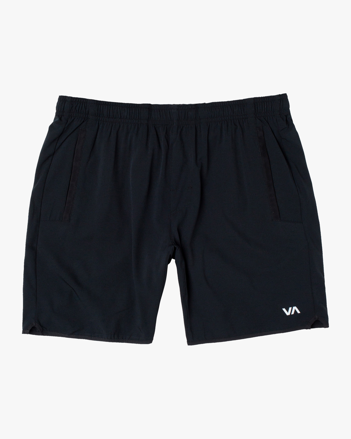 "0 YOGGER STRETCH ATHLETIC SHORTS 17"" Brown V201TRYS RVCA"