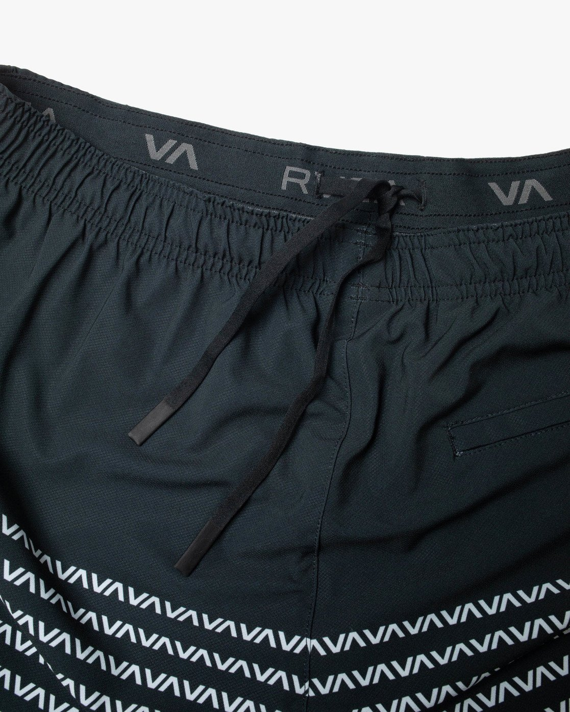 "14 YOGGER STRETCH ATHLETIC SHORTS 17"" Black V201TRYS RVCA"
