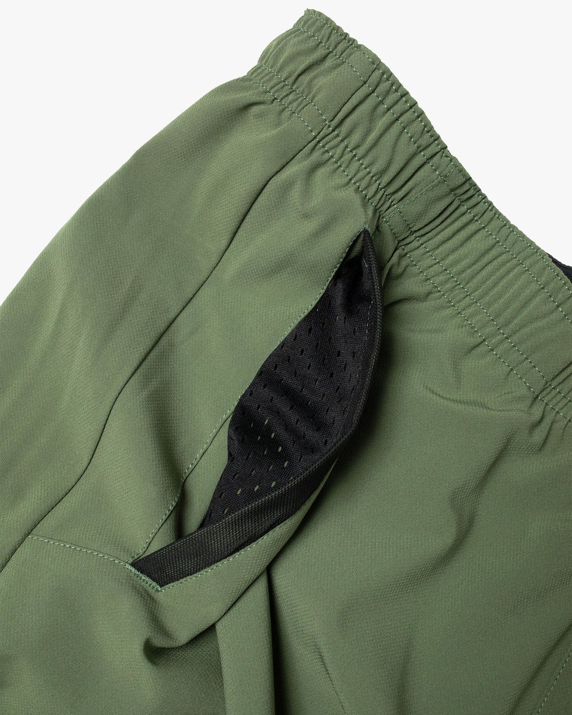 "9 YOGGER STRETCH ATHLETIC SHORTS 17"" Green V201TRYS RVCA"