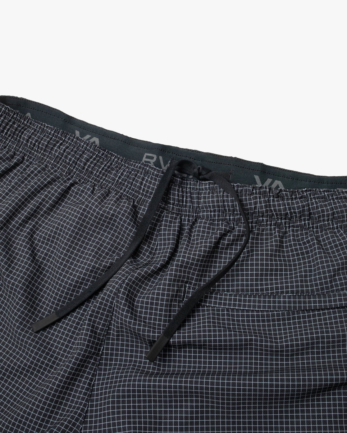 "13 YOGGER STRETCH ATHLETIC SHORTS 17"" Black V201TRYS RVCA"