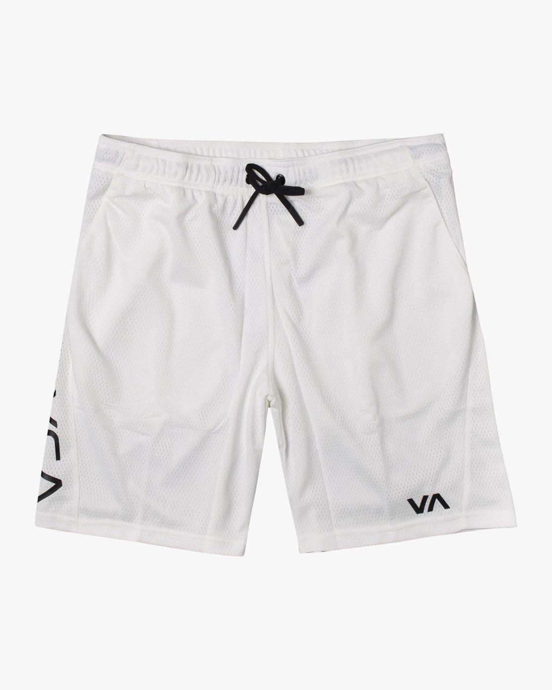 """0 VA MESH SHORT 20"""" White V2033RME RVCA"""