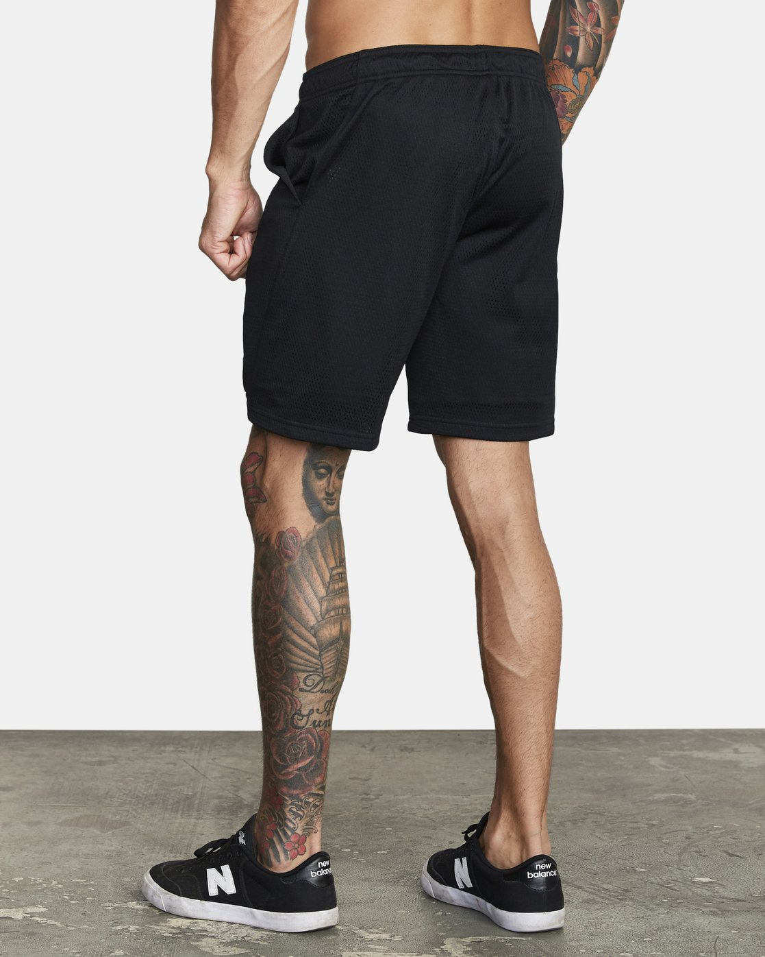 "3 VA MESH 20"" WORKOUT SHORT Black V2033RME RVCA"
