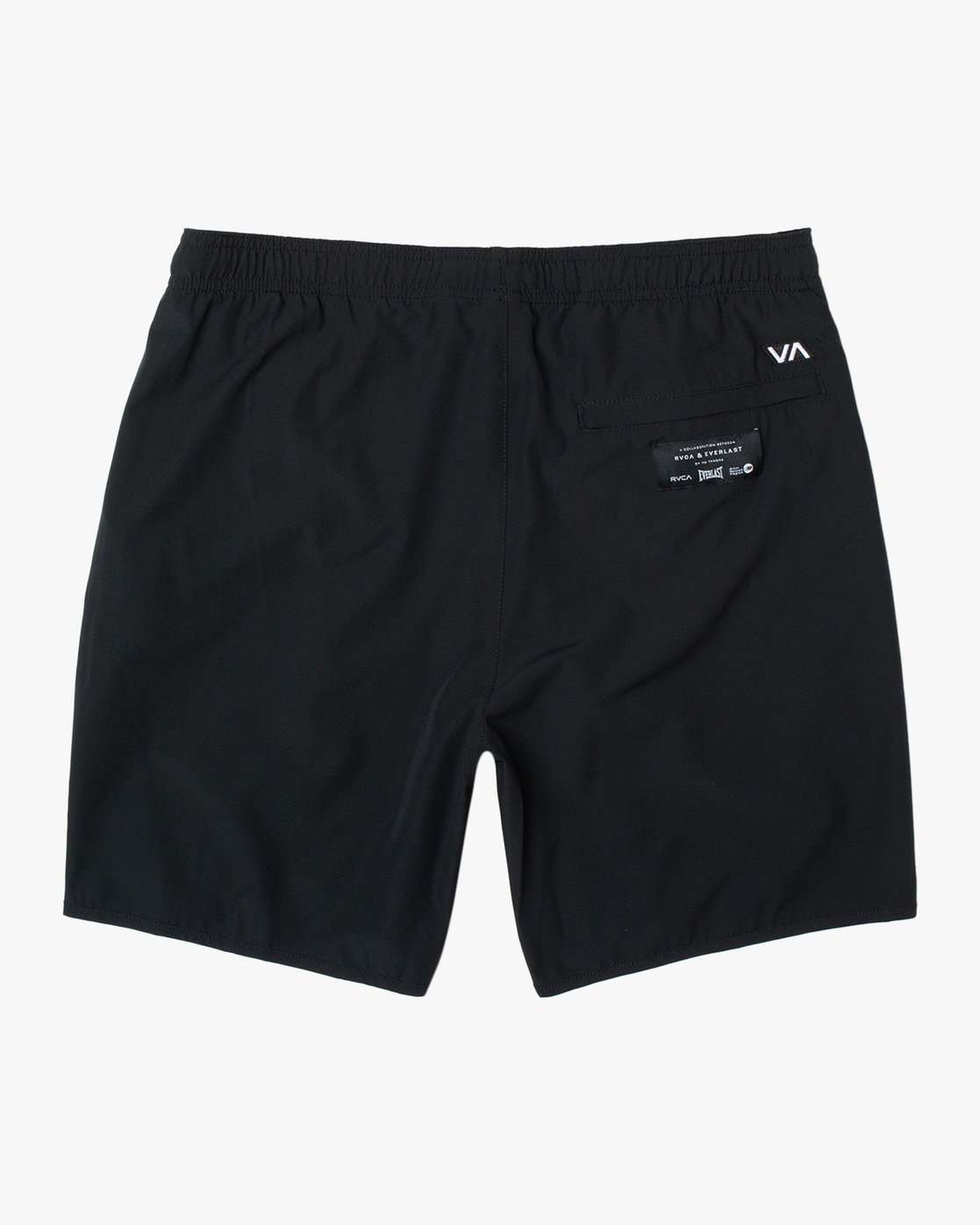 "1 EVERLAST YOGGER IV ATHLETIC SHORTS 17"" Black V2091REY RVCA"