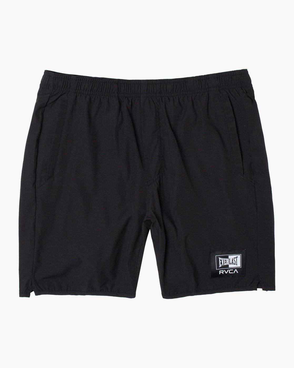 "0 EVERLAST YOGGER IV ATHLETIC SHORTS 17"" Black V2091REY RVCA"