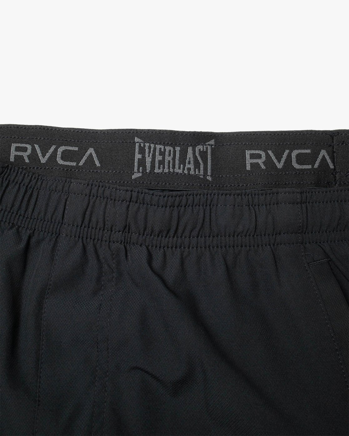 "19 EVERLAST YOGGER IV 17"" WORKOUT SHORT Black V2091REY RVCA"
