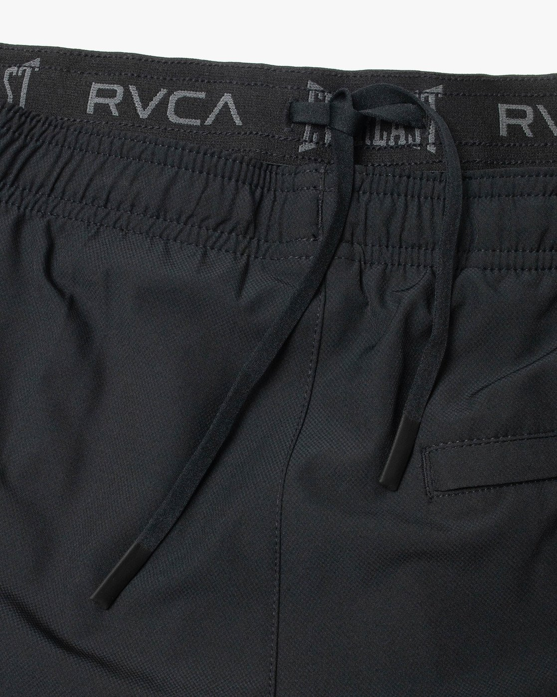 "20 EVERLAST YOGGER IV ATHLETIC SHORTS 17"" Black V2091REY RVCA"