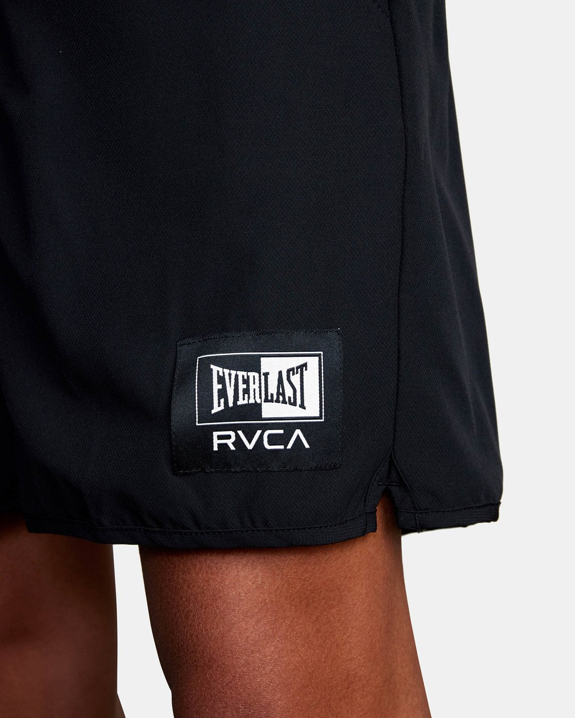 "14 EVERLAST YOGGER IV 17"" WORKOUT SHORT Black V2091REY RVCA"