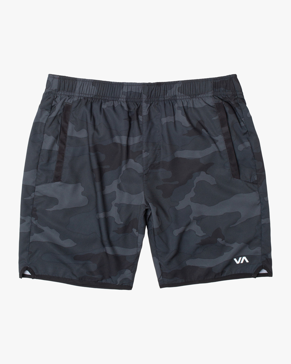 "0 YOGGER IV ATHLETIC SHORTS 17"" Brown V2091YGR RVCA"