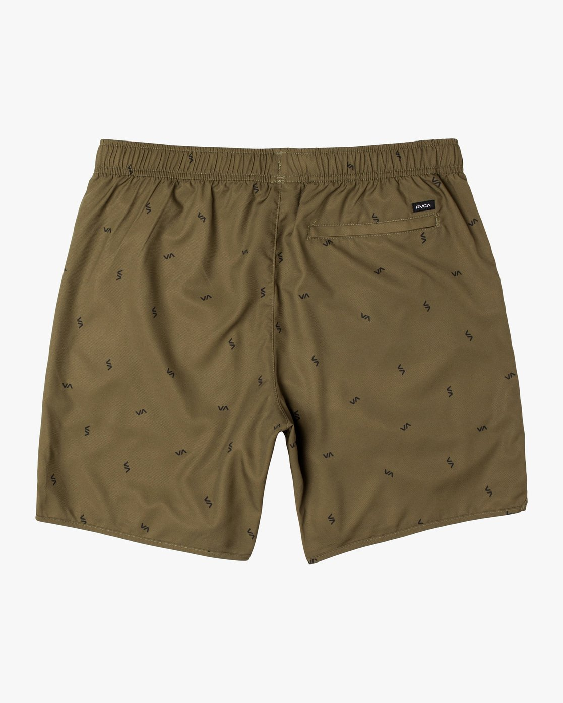 "1 YOGGER IV ATHLETIC SHORTS 17"" Brown V2091YGR RVCA"