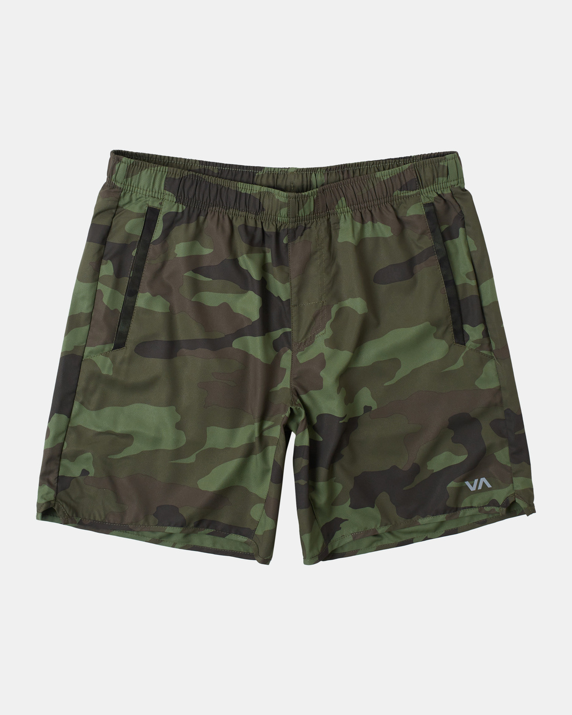 "0 YOGGER IV Recycled 17"" WORKOUT SHORT Green V2091YGR RVCA"