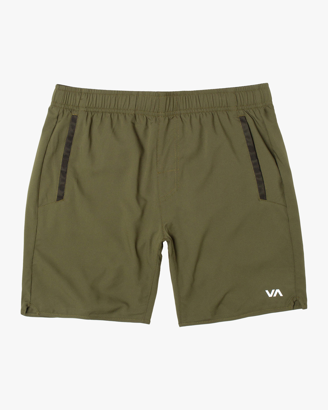 "0 YOGGER IV ATHLETIC SHORTS 17"" Green V2091YGR RVCA"