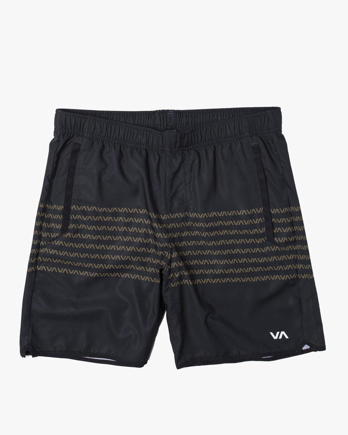 """0 YOGGER IV 17"""" SHORT (Previous Season) Black V2091YGR RVCA"""