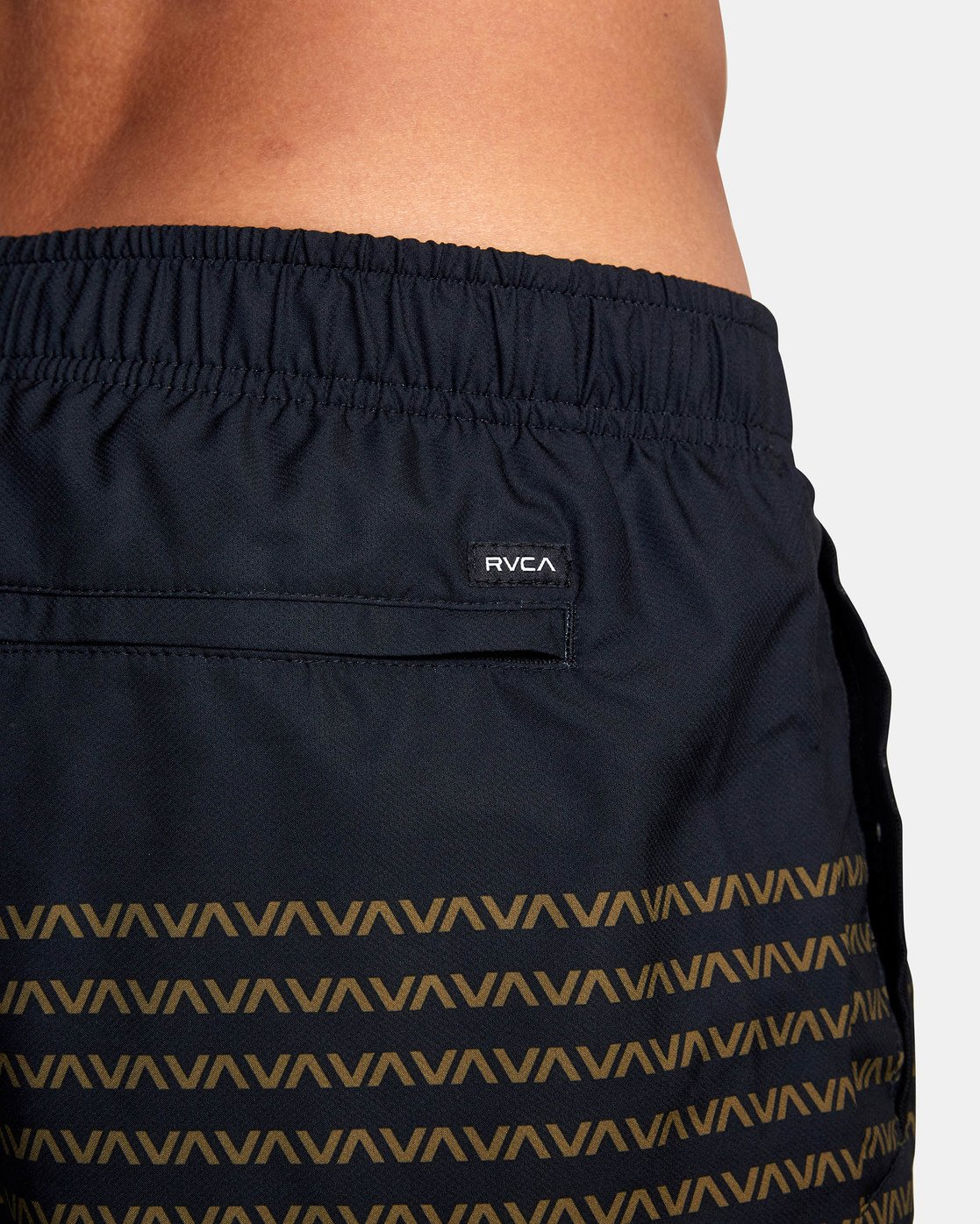 "9 YOGGER IV Recycled 17"" WORKOUT SHORT Black V2091YGR RVCA"