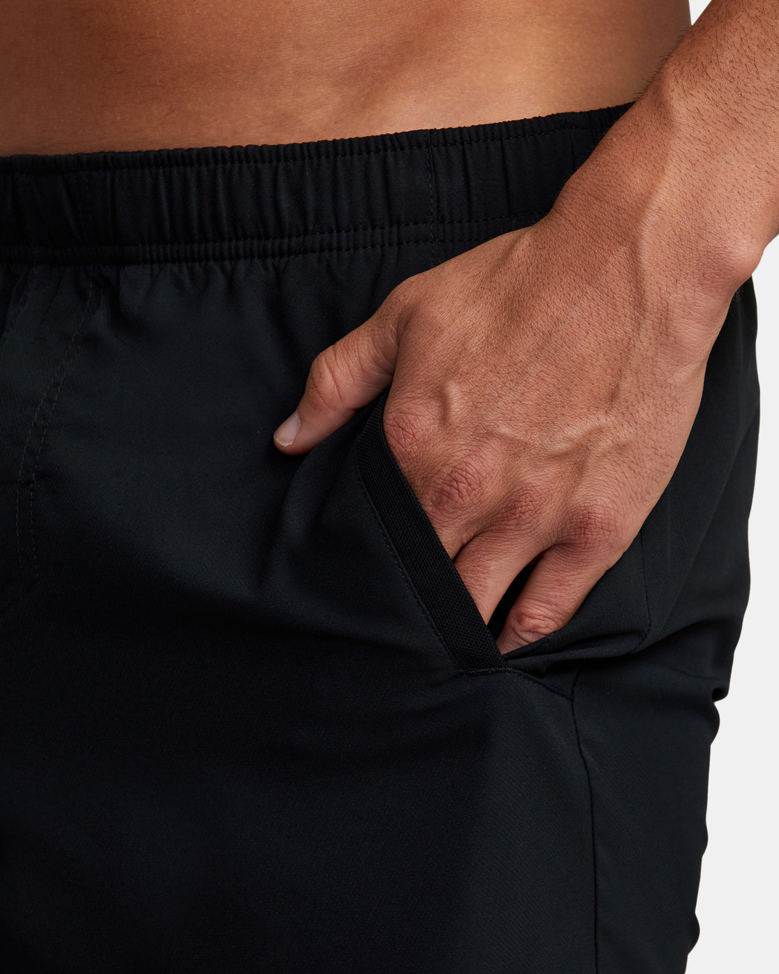 "11 YOGGER IV ATHLETIC SHORTS 17"" Black V2091YGR RVCA"