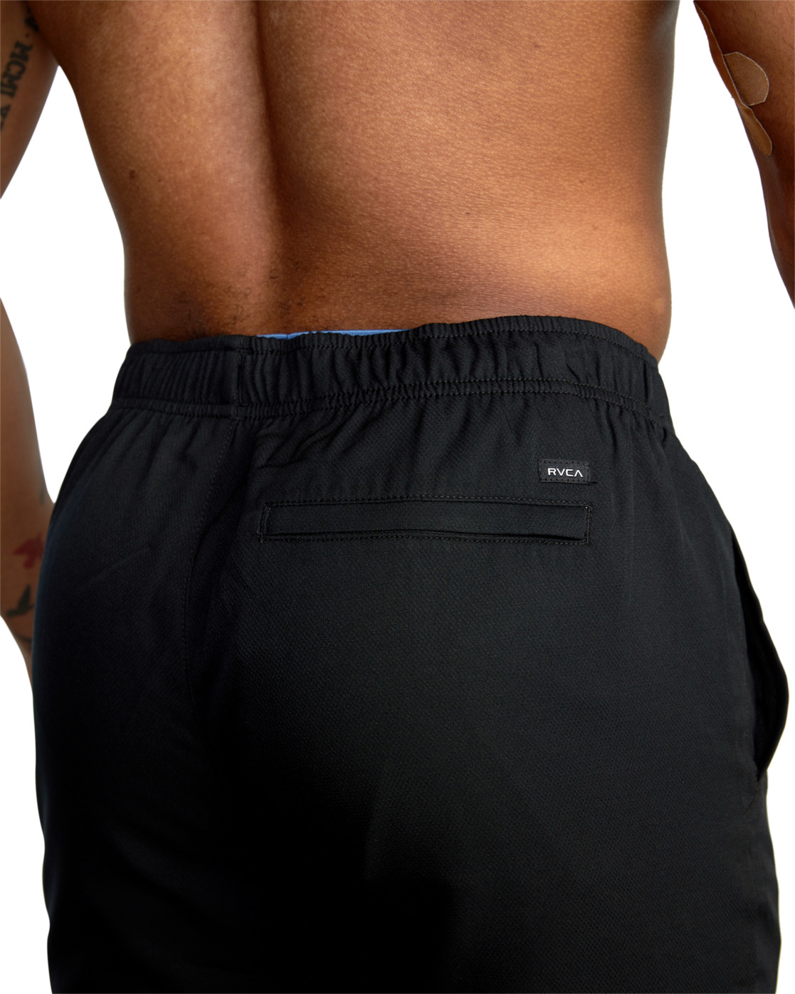"8 YOGGER IV ATHLETIC SHORTS 17"" Black V2091YGR RVCA"