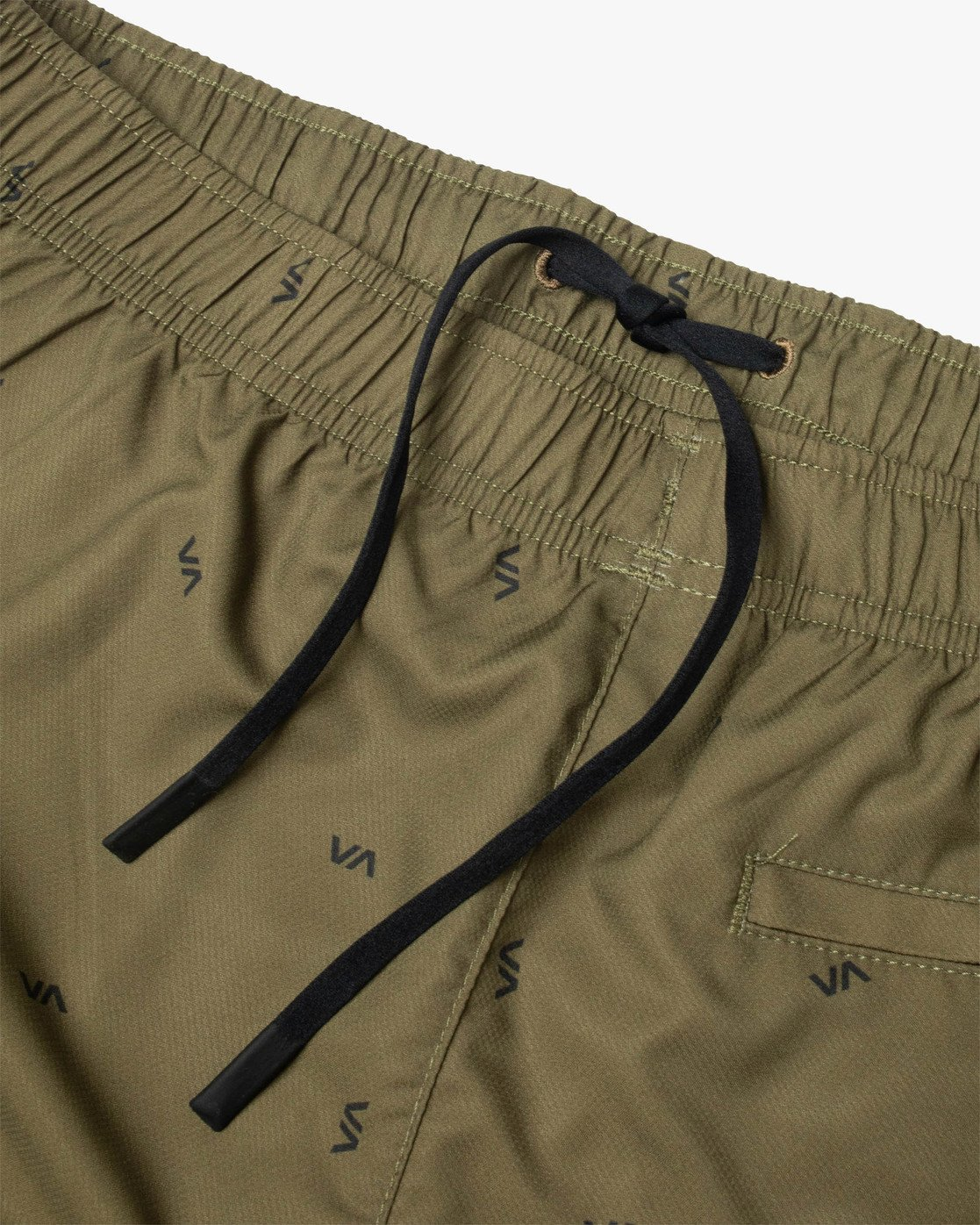 "14 YOGGER IV ATHLETIC SHORTS 17"" Brown V2091YGR RVCA"