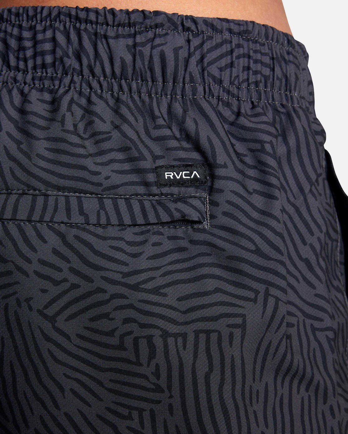 "10 YOGGER IV Recycled 17"" WORKOUT SHORT Grey V2091YGR RVCA"