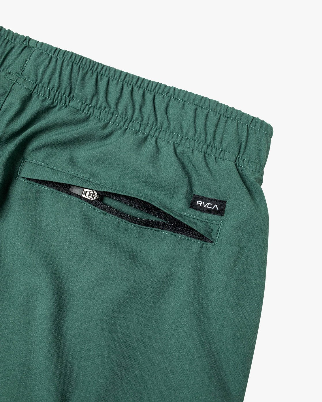 "4 YOGGER IV ATHLETIC SHORTS 17"" Green V2091YGR RVCA"