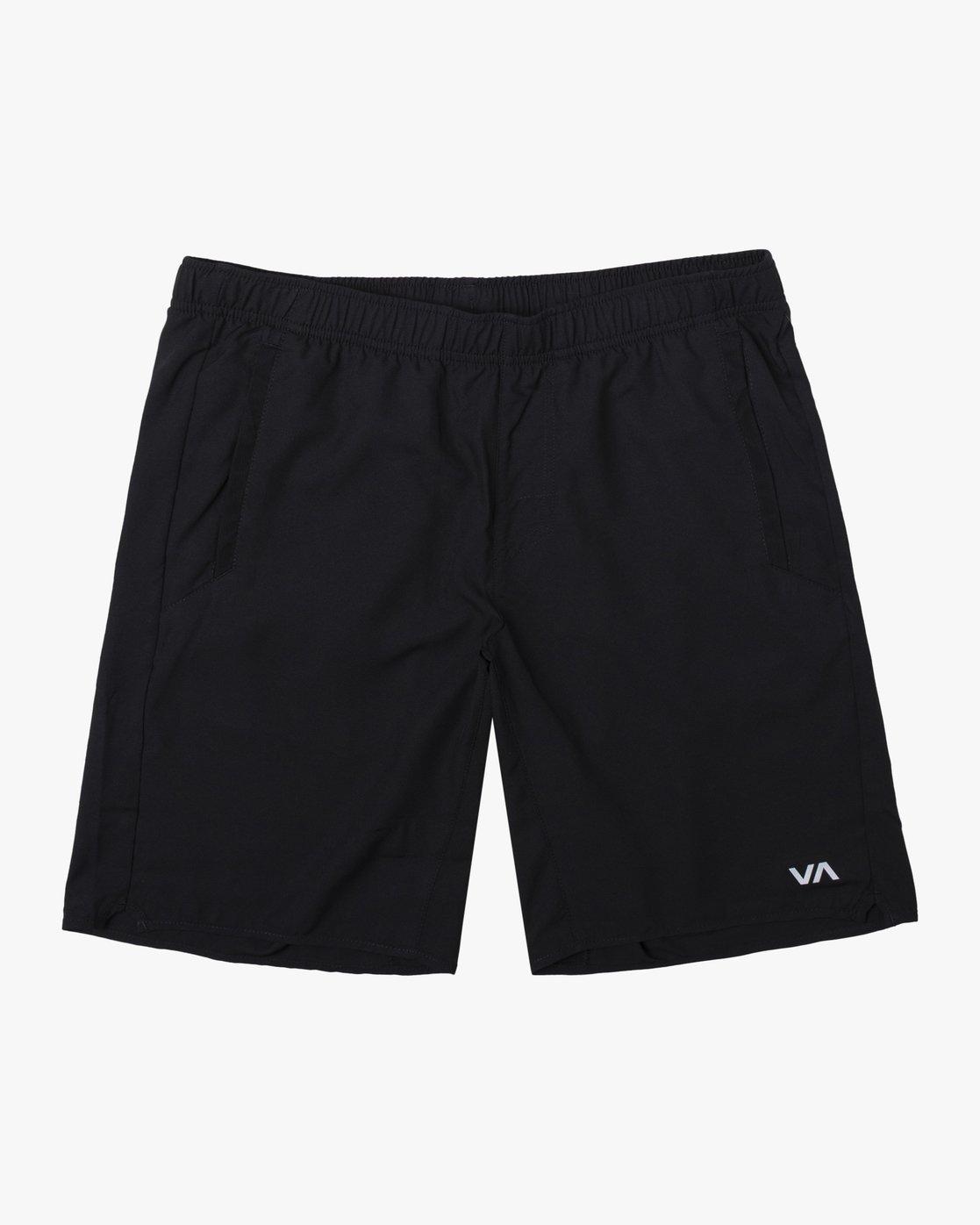 0 YOGGER IV SHORT 19 Black V2101RYG RVCA