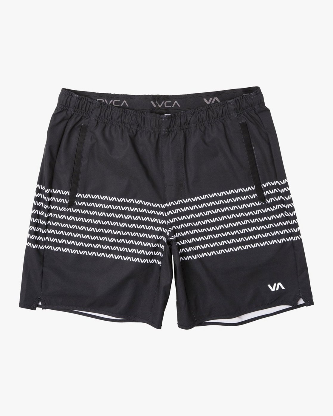 "0 YOGGER STRETCH ATHLETIC SHORTS 17"" Black V2103RYS RVCA"
