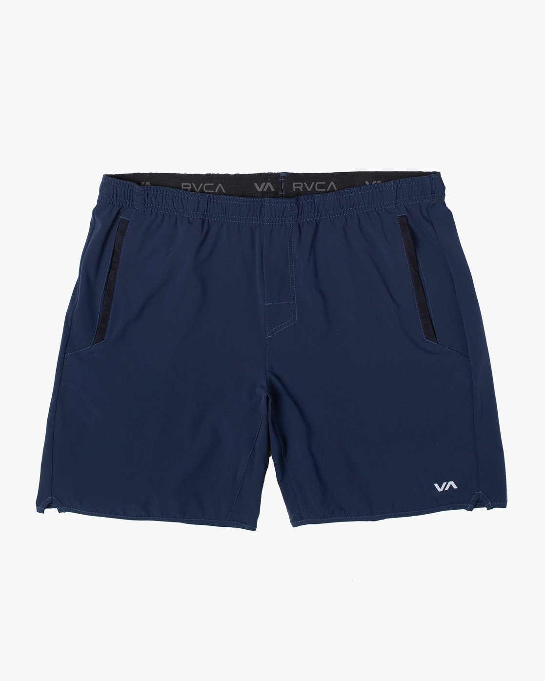 "0 YOGGER STRETCH ATHLETIC SHORTS 17"" Blue V2103RYS RVCA"