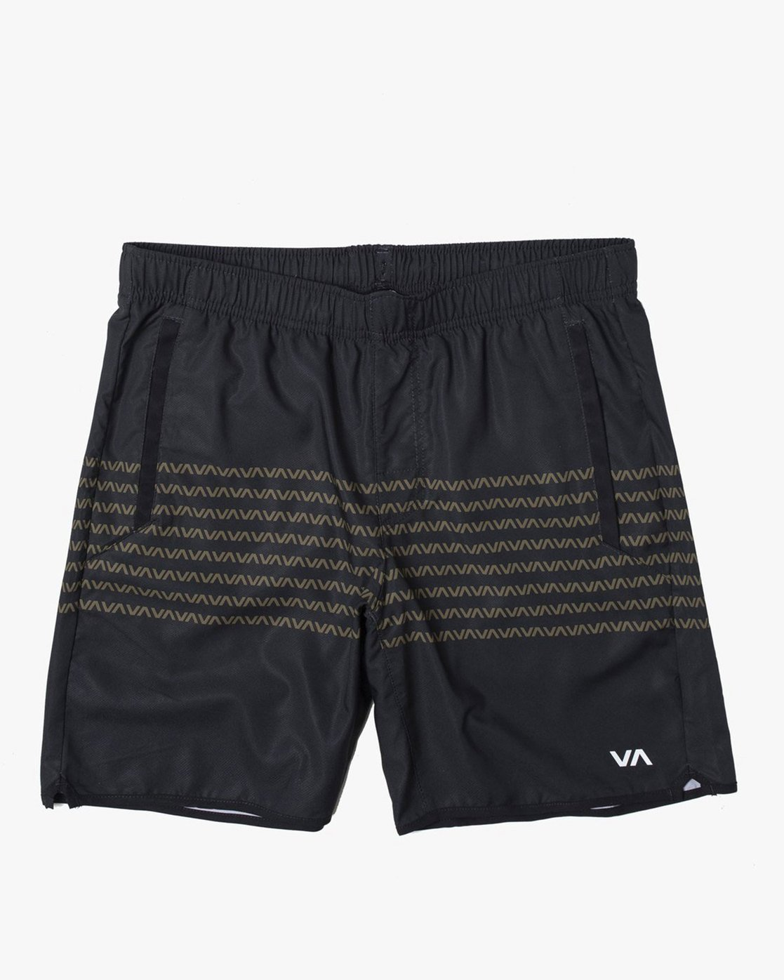 "0 YOGGER IV ATHLETIC SHORTS 17"" Black V2133RYG RVCA"