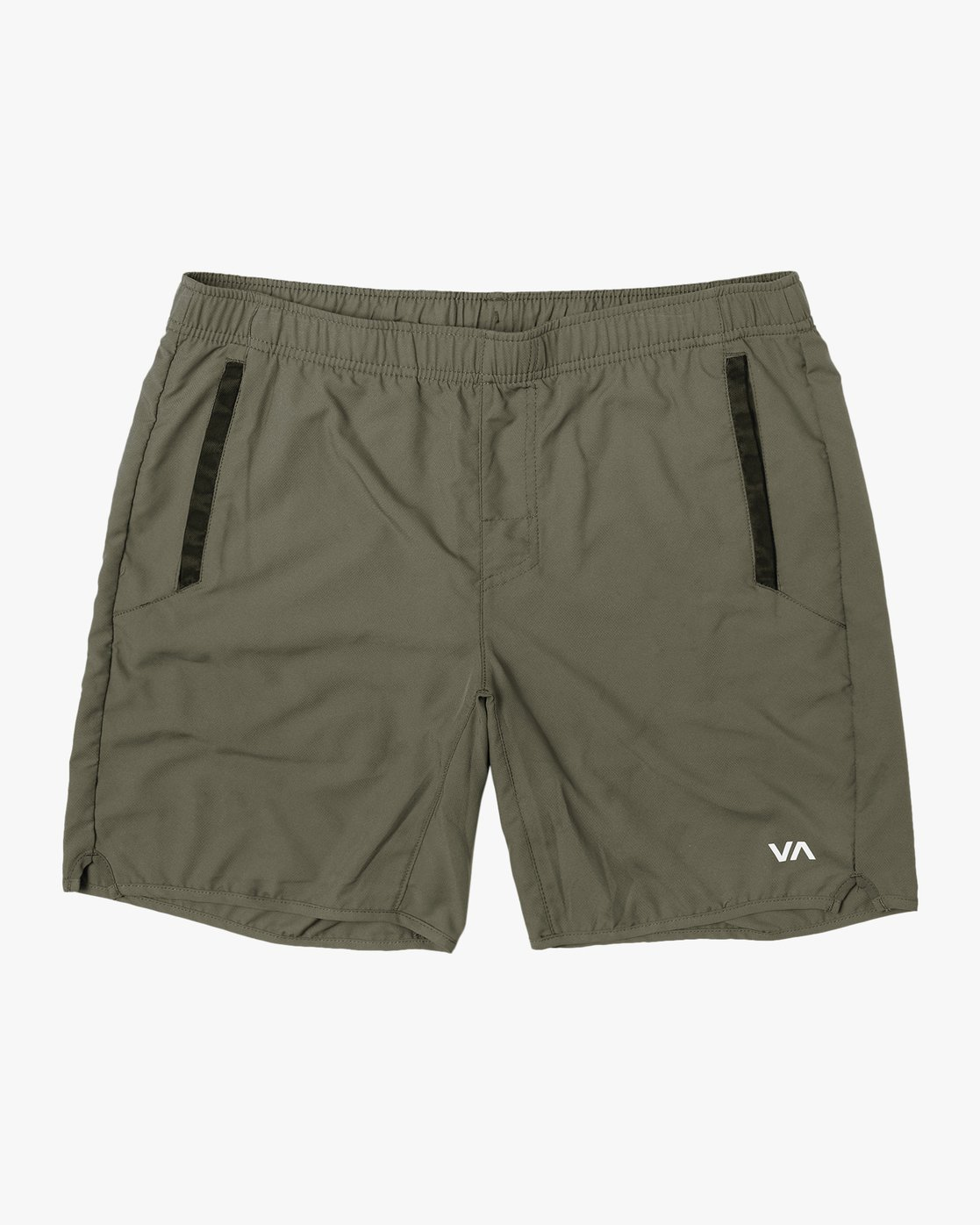 "0 YOGGER IV 17"" WORKOUT SHORT Green V2133RYG RVCA"