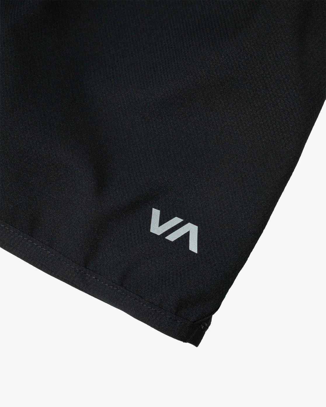 """10 YOGGER IV 17"""" WORKOUT SHORT Black V2133RYG RVCA"""