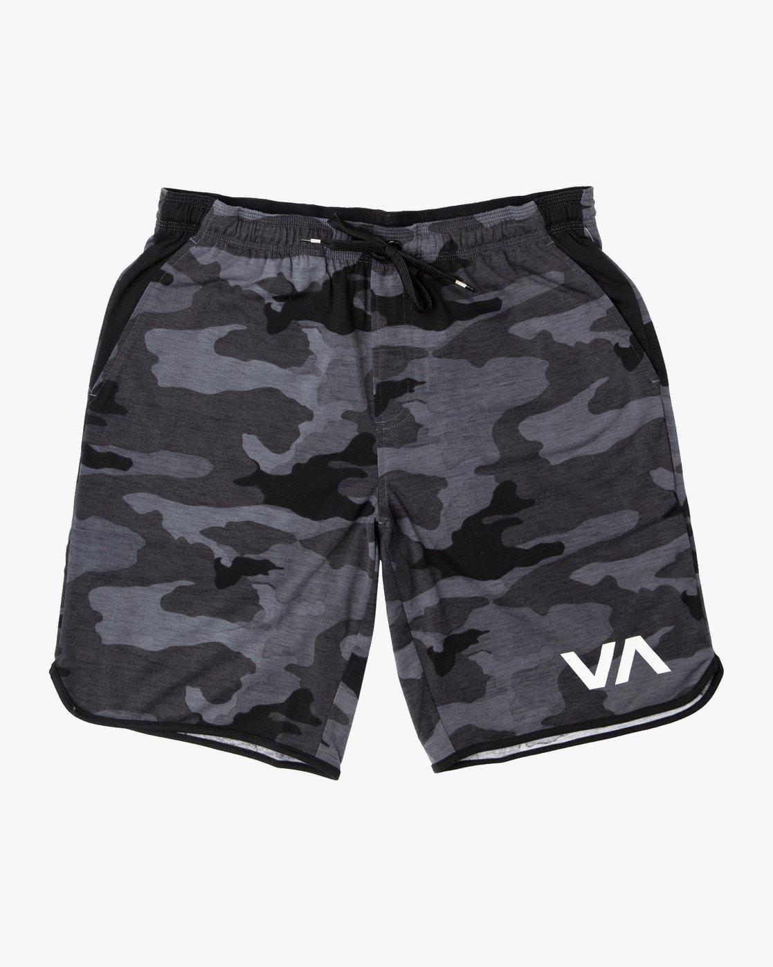 """0 VA Sport Short II 20"""" Short Black V255QRVE RVCA"""