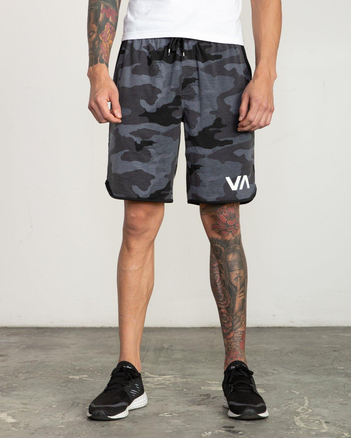 """1 VA Sport Short II 20"""" Short Black V255QRVE RVCA"""