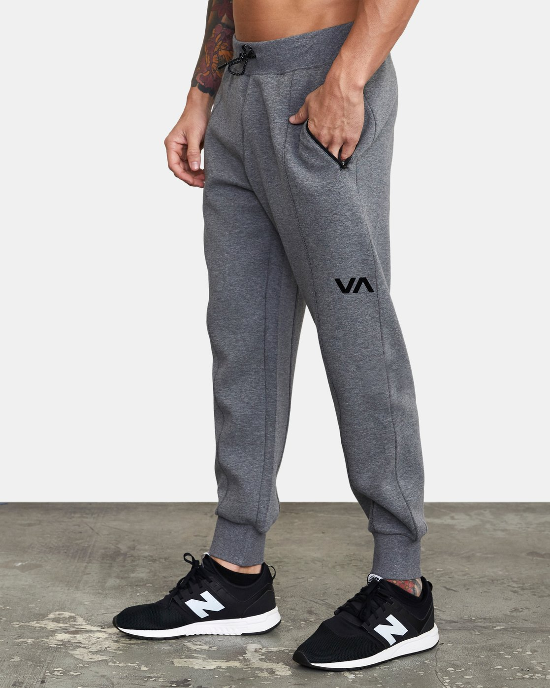 2 SPORT TECH SWEATPANT Grey V3013RSP RVCA