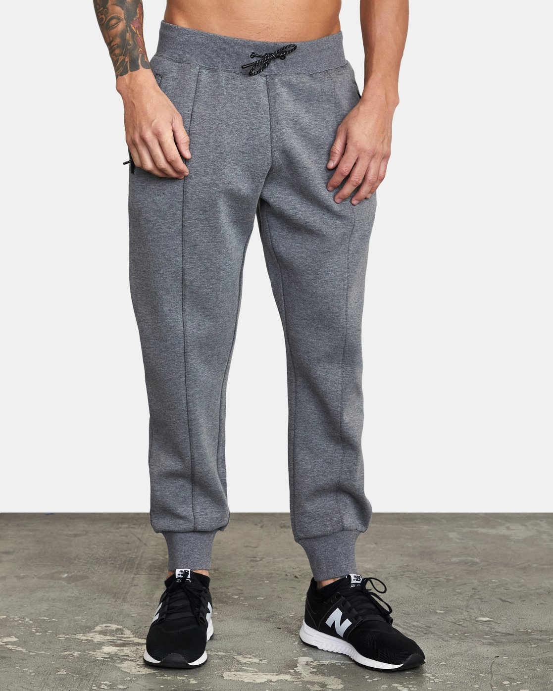 5 SPORT TECH SWEATPANT Grey V3013RSP RVCA