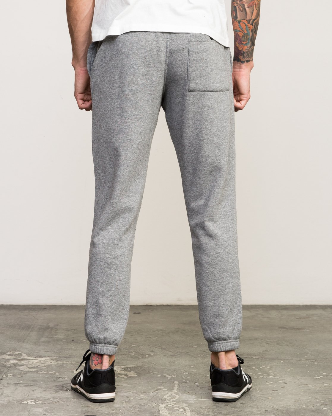 3 VA Guard Fleece Sweatpant Grey V301QRGU RVCA