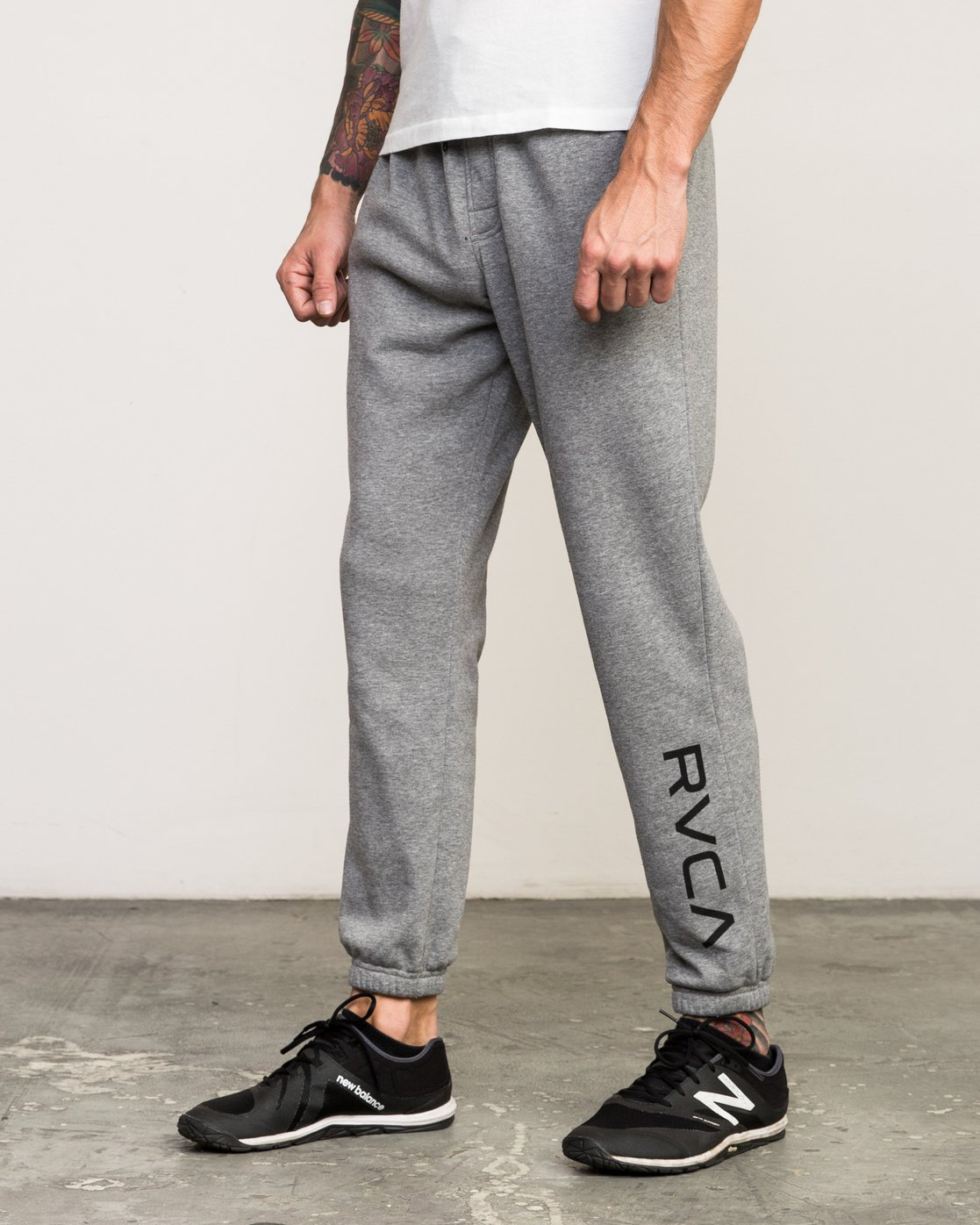 1 VA Guard Fleece Sweatpant Grey V301QRGU RVCA