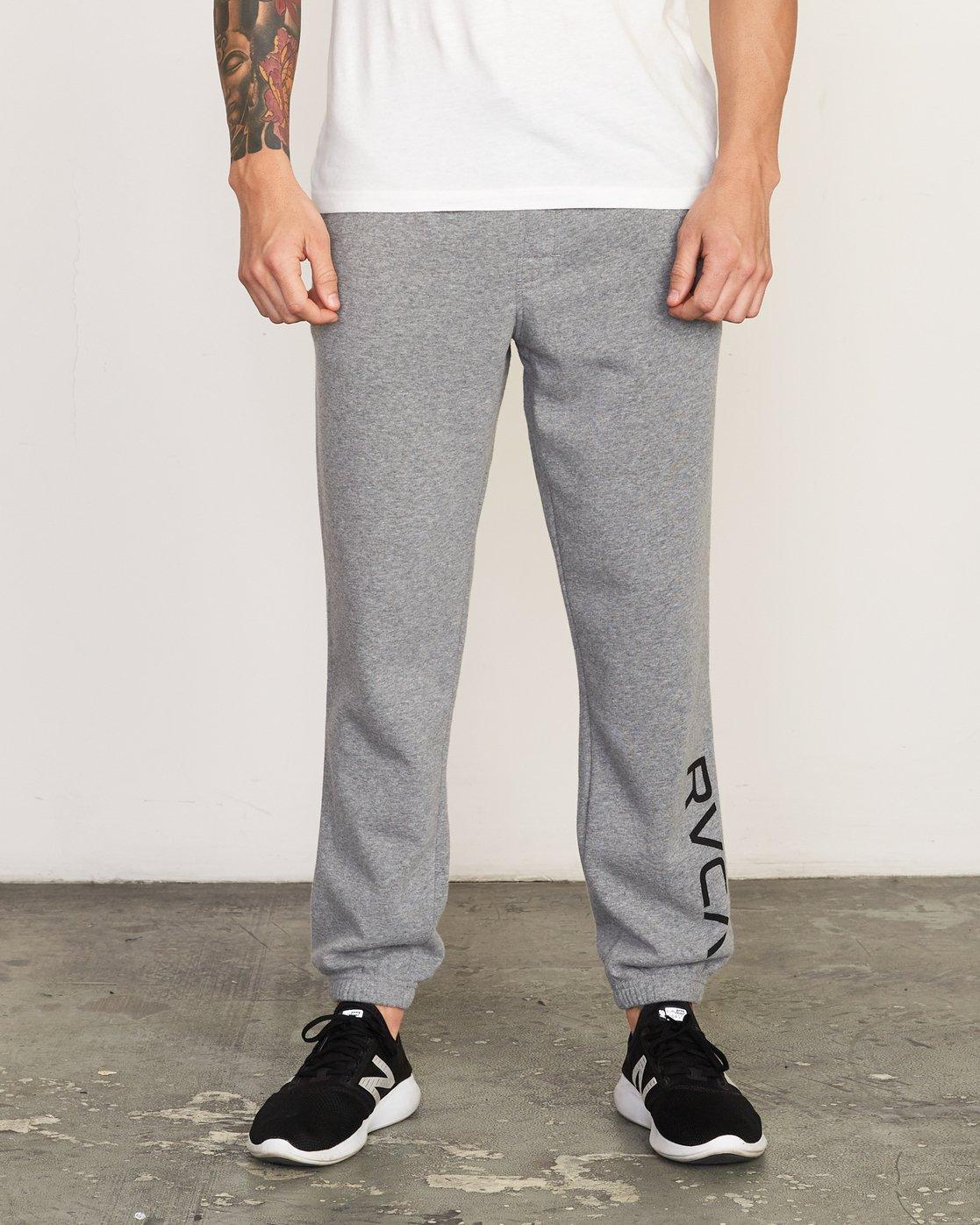 0 Cage Sweatpant Grey V302TRCS RVCA