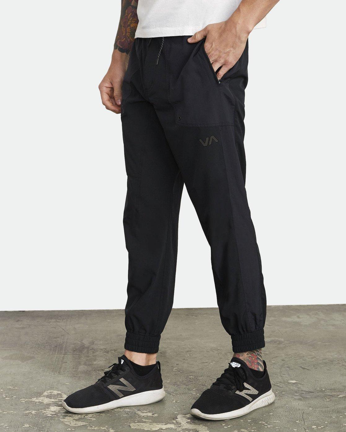 1 YOGGER TRACK PANT Black V3041RYP RVCA
