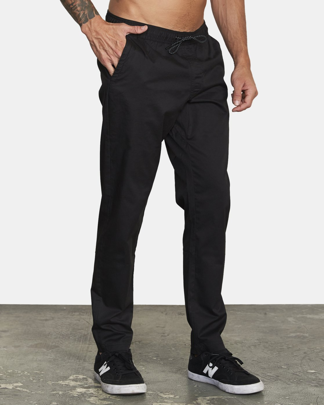 5 SPECTRUM III WOVEN PANT Black V3061RSP RVCA