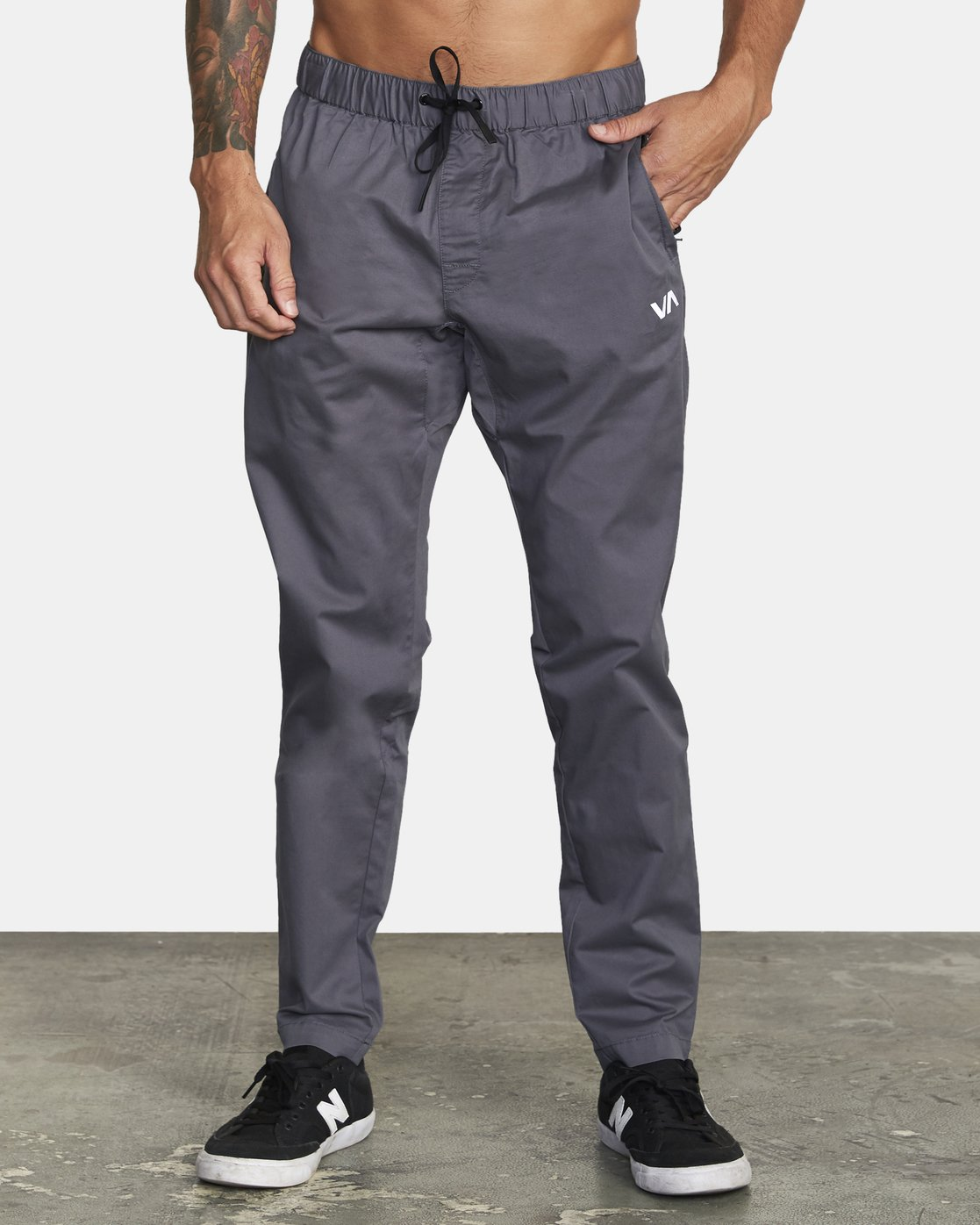 0 SPECTRUM III WOVEN PANT Grey V3061RSP RVCA